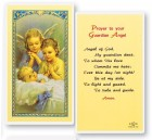 Guardian Angels, Angel of God Laminated Prayer Cards 25 Pack