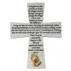 Serenity Prayer Wall Cross - 7.5 inch