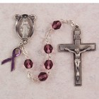 Purple / Lavender Awareness Rosary