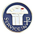 Service in Christ Lapel Pin
