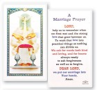 Marriage Prayer Wedding Symbol Laminated Prayer Cards 25 Pack