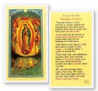 Prayer For The Helpless Unborn Laminated Prayer Cards 25 Pack
