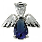 Angel Pin- September Birthstone