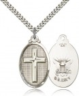 Cross Navy Pendant