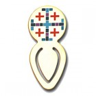 The Jerusalem Cross Bookmark Clip