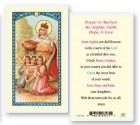 St. Sophia Laminated Prayer Cards 25 Pack