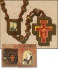 St. Pio Rosary and Prayer Card - 3 per order