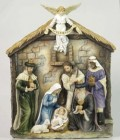 "Veronese Nativity Wall Plaque - 16""H"