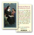 St. Katharine Drexel Laminated Prayer Cards 25 Pack