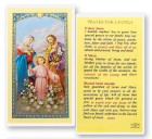 Prayer For A Family Laminated Prayer Cards 25 Pack