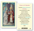 St. Valentine Day Laminated Prayer Cards 25 Pack