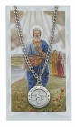 Round St. Philip Medal with Prayer Card