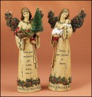 Fioretti Woodland Christmas Angel Figurines [GFCHR1008]