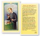 St. Gerard Laminated Prayer Cards 25 Pack