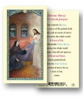 Divine Mercy 3 O'clock Laminated Prayer Cards 25 Pack