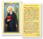 St. Benedict Laminated Prayer Cards 25 Pack