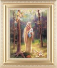 Madonna of the Woods Framed Print