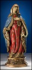 "Immaculate Heart of Mary Statue - 9.25""H"