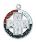 Large Land Air Sea USA 4-Way Medal