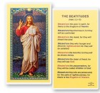 The Beatitudes Laminated Prayer Cards 25 Pack