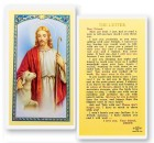 The Letter From Jesus Laminated Prayer Cards 25 Pack