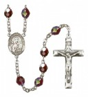 Men's Our Lady of Perpetual Help Silver Plated Rosary