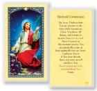 Spiritual Communion Laminated Prayer Cards 25 Pack