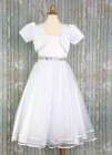 Plus Size First Communion Dress, Fashion Bolero
