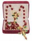 Poinsettia Christmas Rosary