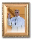 Pope Francis Framed Print with Easel Back