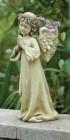 """Praying Angel Planter Garden Statue - 16""""H"""