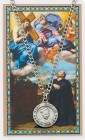 Round St. Ignatius of Loyola Medal with Prayer Card