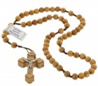 Rustic Olive Wood Rosary
