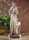 Saint Francis with Deer 12.75 Inch High Statue