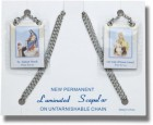 Scapular on Steel Chain - Pack of 3 per order