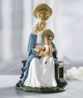 Seated Madonna 6 Inches High Statue