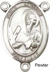 St. Andrew Rosary Centerpiece Sterling Silver or Pewter