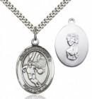 St. Christopher Basketball Medal
