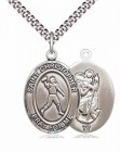 St. Christopher Football Medal