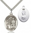 St Christopher Karate Patron Saint Medal