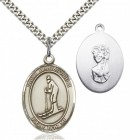 St. Christopher Skiing Medal