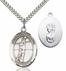 Girl's St. Christopher Volleyball Medal