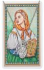 St. Dymphna Medal with Prayer Card