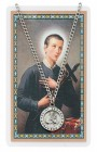 St. Gerard Majella Medal with Prayer Card