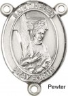 St. Helen Rosary Centerpiece Sterling Silver or Pewter