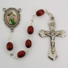St. John Brown Wood Rosary