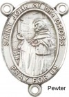 St. John of the Cross Rosary Centerpiece Sterling Silver or Pewter