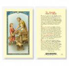 St. Joseph Patron of Workers Laminated Prayer Cards 25 Pack