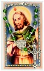 St. Jude Auto Rosary with Prayer Card