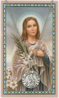 St. Maria Goretti Medal with Prayer Card